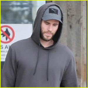Liam Hemsworth Runs Errands Around Malibu