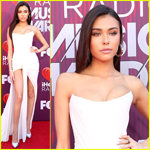Madison Beer Is a Vision In White at iHeartRadio Music Awards 2019