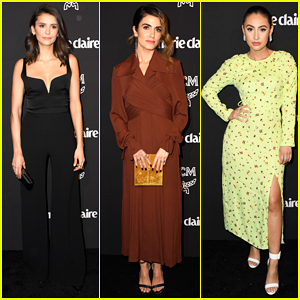 Nina Dobrev, Nikki Reed & Francia Raisa Celebrate at Marie Claire's Change Makers Event!