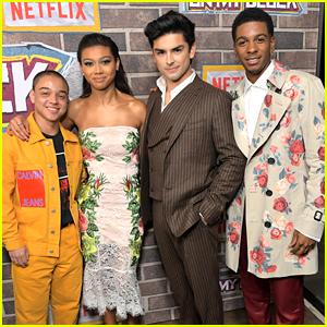 Sierra Capri, Diego Tinoco & More Celebrate 'On My Block' Season 2 at Premiere Party