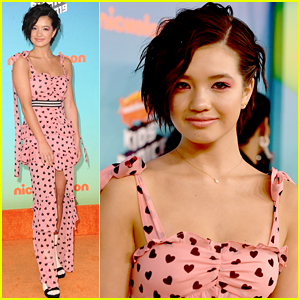 Peyton Elizabeth Lee's Heart Jumpsuit Is So Cute at the KCAs 2019!
