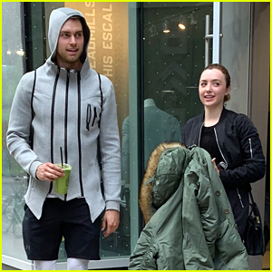 Peyton List Joins 'Glamorous' Co-star Pierson Fode For A Workout in Toronto