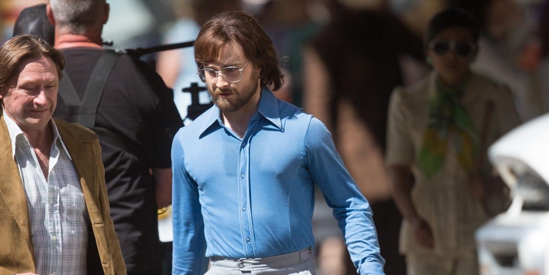 Daniel Radcliffe Looks Almost Unrecognizable While Filming 'Escape from Pretoria!'