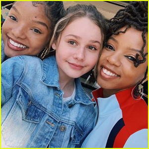 Ruby Rose Turner Fangirls While Meeting Chloe x Halle!