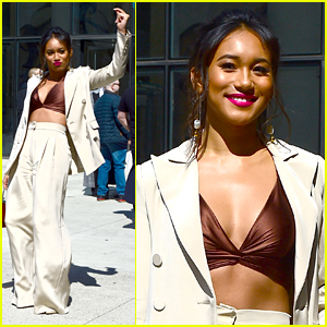 Sydney Park Does a Little Dance In Between 'Perfectionists' Promos in NYC