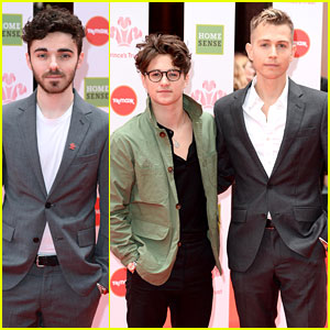 The Vamps' Brad Simpson & James McVey Join Nathan Sykes at Prince's Trust Awards 2019