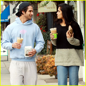 Tyler Posey Sophia Taylor Ali Couple Up For Coffee In La Sophia
