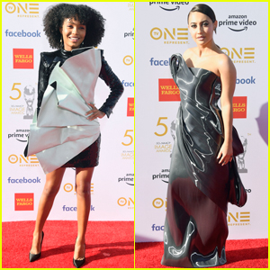 Yara Shahidi & Francia Raisa Step Out for NAACP Image Awards 2019