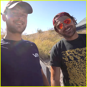 Zac Efron Goes Camping in the Desert with Dylan in First YouTube Video!