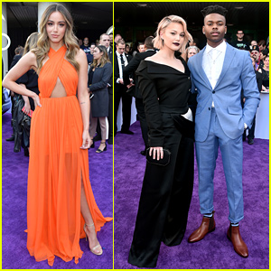 Olivia Holt, Aubrey Joseph, & Chloe Bennet Team Up for 'Avengers: Endgame' Premiere!