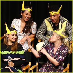 Aimee Carrero & AJ Michalka Wear Crowns To She-Ra Season 2 Fan Screening