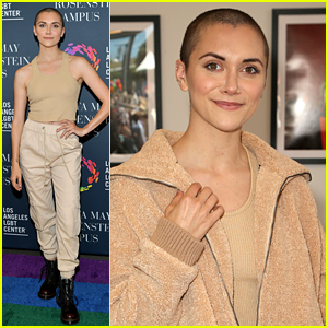 Alyson Stoner Steps Out To Celebrate Opening Of LGBT Center's Anita May Rosenstein Campus