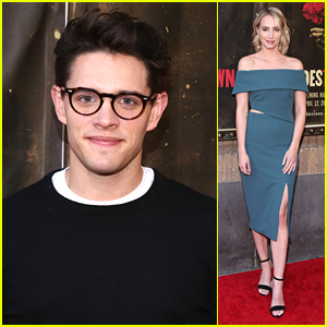 Casey Cott Joins Molly McCook at 'Hadestown' Opening Night in NYC