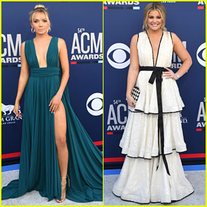 Danielle Bradbery & Lauren Alaina Arrive at ACM Awards 2019