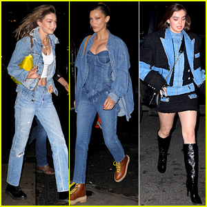 Gigi Hadid Dons Double Denim for Her Star-Studded Birthday Bash!