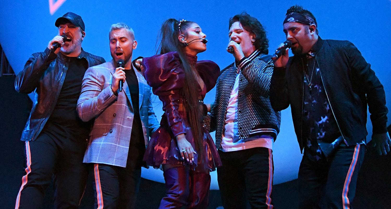 Ariana Grande Stages NSYNC Reunion for Coachella Set ...