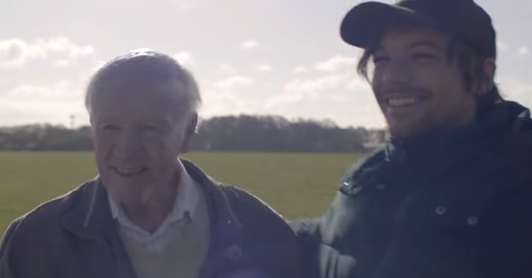 Louis Tomlinson Spends the Day Helping 83-Year-Old Richard Green Complete His Bucket List – Watch!