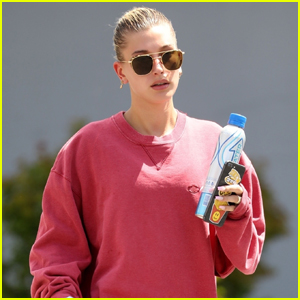 Hailey Bieber Heads Home From Afternoon Pilates Class