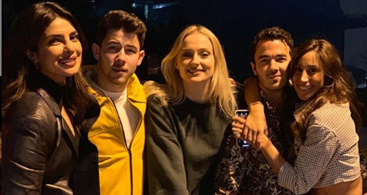 The Jonas Brothers Celebrate Their New Song in NYC!