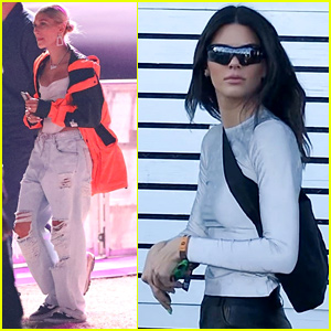 dbbee96802b Kendall Jenner & Hailey Bieber Check Out Jaden Smith's Coachella Set ...