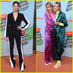 Kira Kosarin Performs 'Vinyl' at KCAs in Germany