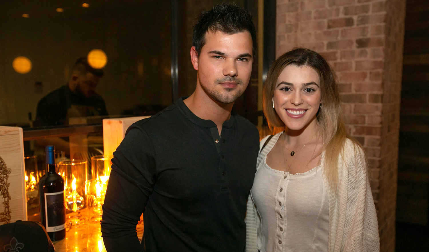 Taylor Lautner & Tay Dome Couple Up for Dinner Date