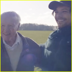 Louis Tomlinson Spends the Day Helping 83-Year-Old Richard Green Complete His Bucket List - Watch!