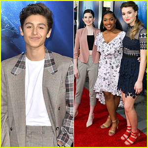 Marcel Ruiz, Ali Skovbye & More Step Out For 'Breakthrough' Premiere in LA