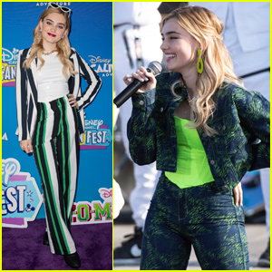 Meg Donnelly Takes the Stage at Disney Channel Fan Fest!