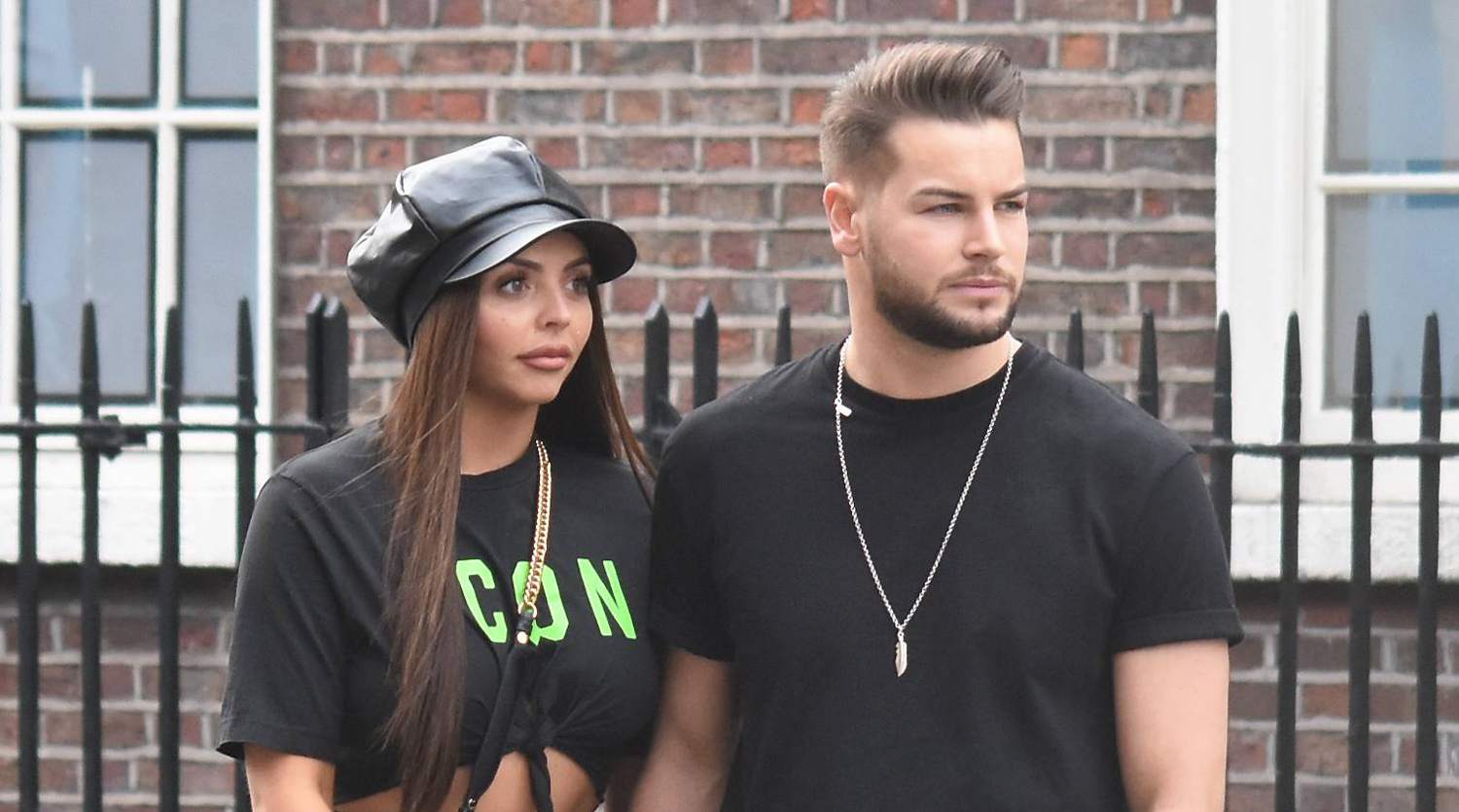 Jesy Nelson & Boyfriend Chris Hughes Hold Hands While Out in Dublin