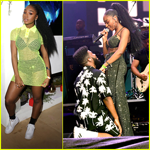 Normani Joins Khalid On Stage At Coachella Music Festival 2019
