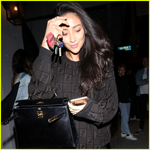 Shay Mitchell Heads Out To Dinner After A Hike With Troian Bellisario