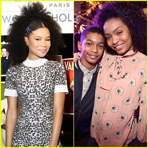 Storm Reid Got The Sweetest Promposal From Yara Shahidi's Brother Sayeed