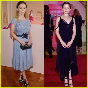 Sydney Sweeney & Cailee Spaeny Doll Up for Hotel Vivier Event!