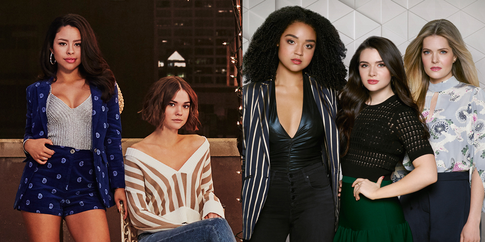 the bold type stars want the show to crossover with good trouble good trouble television. Black Bedroom Furniture Sets. Home Design Ideas
