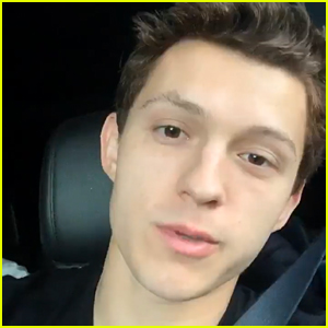 Tom Holland Sends His Own Sweet Thank You To Marvel Fans After Missing 'Avengers: Endgame' Premiere