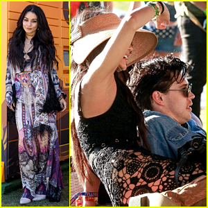 Vanessa Hudgens Kicks Off Coachella 2019 with Austin Butler By Her Side!