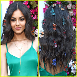 Here's How Victoria Justice's Butterfly Hair She Wore To Coachella Came Together