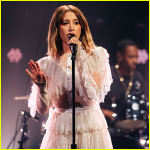 Ashley Tisdale Killed Her Performance of 'Voices in My Head' on The Late Late Show