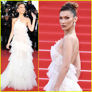 Bella Hadid Has a Wow Moment on Cannes Red Carpet!