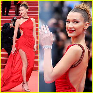 Bella Hadid Is Red Hot At Cannes Film Festival 2019 See