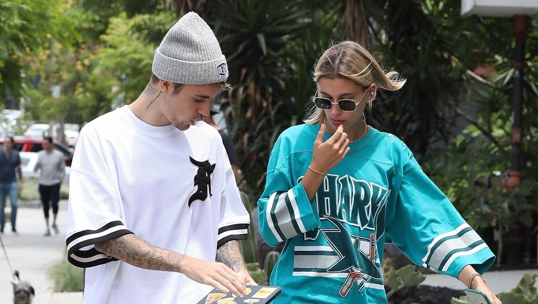 Justin Bieber & Wife Hailey Enjoy Weekend Breakfast Date