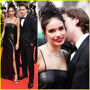 Brooklyn Beckham & Hana Cross Couple Up For 'Once Upon a Time in Hollywood' Premiere at Cannes