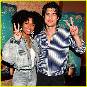 Charles Melton & Yara Shahidi Give Out Scholarship at 'Sun Is Also a Star' Screening in Atlanta