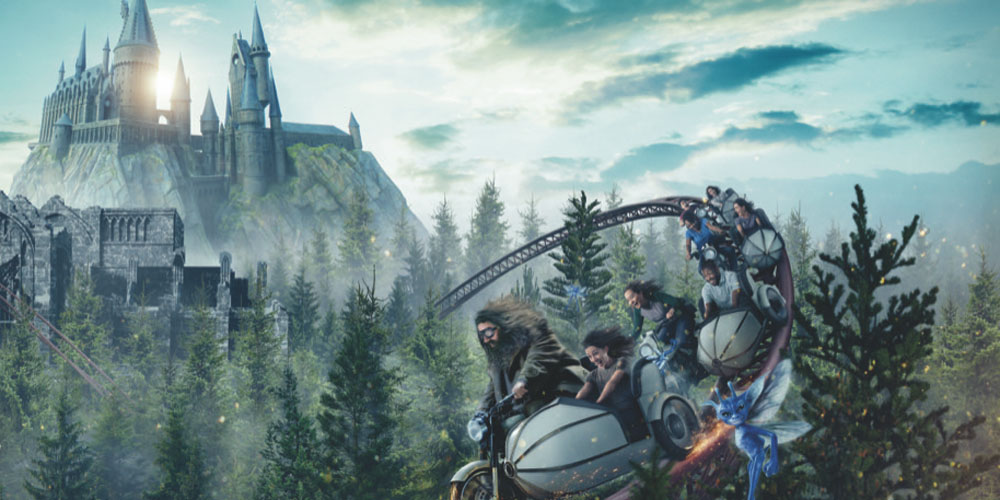Get All The Details About Hagrid's Magical Creatures Motorbike Adventure Coaster at Wizarding World of Harry Potter!