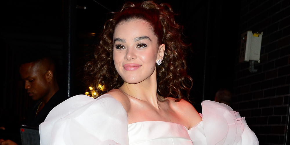 Hailee Steinfeld Hits Up Met Gala After Party in Poofy White Dress