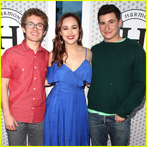 Hayley Orrantia's 'The Goldbergs'  Co-Stars & Friends Join Her at 'The Way Out' EP Release Party