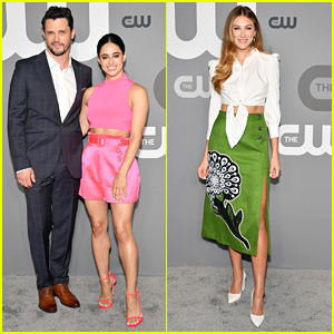 Jeanine Mason & Nathan Dean Parsons Join Perry Mattfeld at CW Upfronts 2019