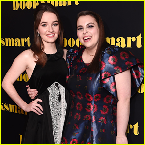 Kaitlyn Dever Premieres New Movie 'Booksmart' in London With Beanie Feldstein