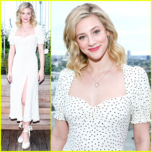 Lili Reinhart Celebrates Reformation's New Shoe Collection
